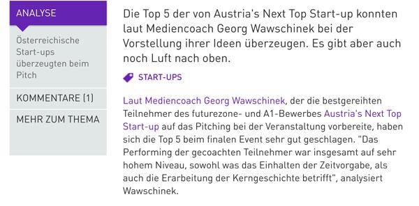 Vorschaubild_Österreichische Start-ups überzeugten beim Pitch - futurezone