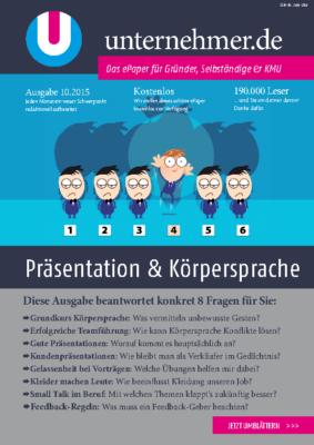 2015 10 Unternehmerwissen Georg Wawschinek