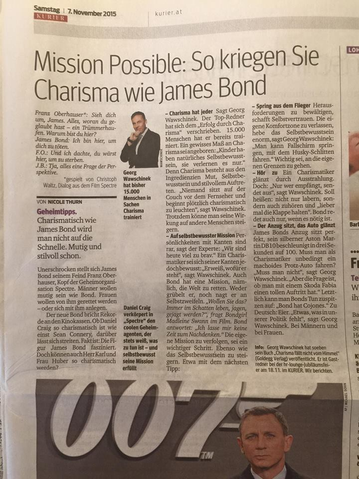 James Bond Kurier