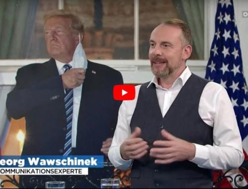 """Donald Trumps Heldenreise oder """"ich verstehe jetzt das Virus"""""""